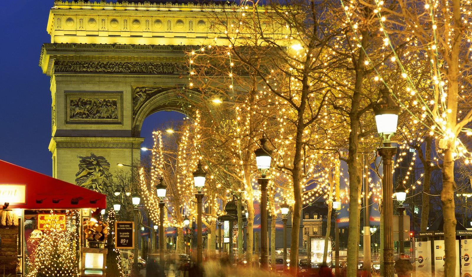 В Париж на встречу Новому году 2018!
